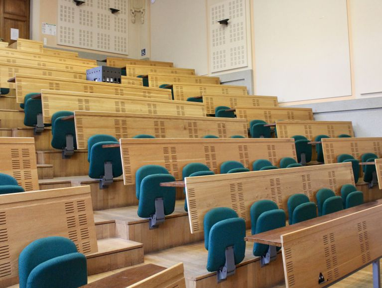 Complete repair of folding seats Agroparistech site Paris 5 th - Fabric of the publisher Lelievre