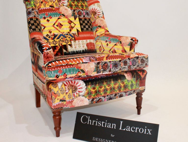 Cover of an armchair - Fabric Christian Lacroix edited by Designers Guild