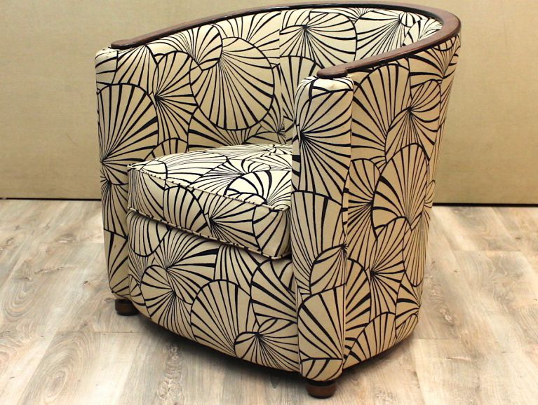 Decorative Art Chair Cover - Fabric editor Olivier Thevenon